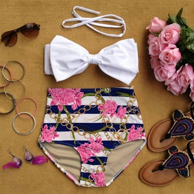 23047144c9 I m loving the high waisted bikinis! ALL my stretch marks are below my  belly button