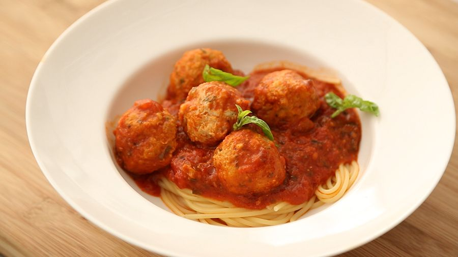 Lightened up turkey meatballs recipe everyday food recipes and food forumfinder Images