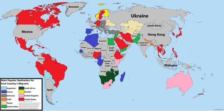 United States Potion Density Map on