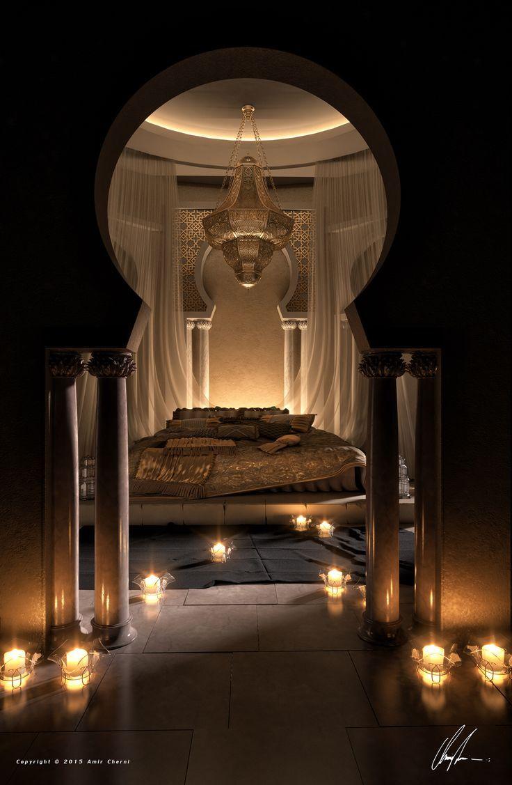 8117bc518683d779a5fe4dc8a37b2561  Arab Bedroom Royal Bedroom (736×1127