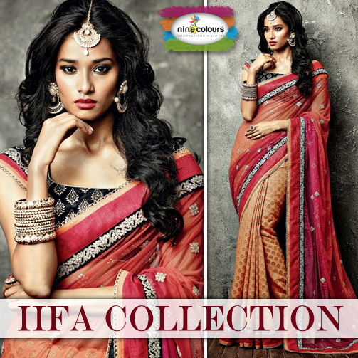 Ninecolours presents the #IIFA collection. Shop now & look your beautiful best! http://bit.ly/IIFA2014Collection #fashion #style #love #beautiful #instagood #instafashion #pretty #girly #outfit #shopping #sarees #suits #lehengas #wedding #indian #traditional #bridal