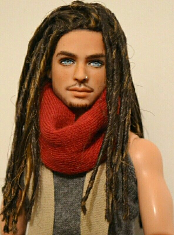 Salem...handsome doll repaint by Doll Anatomy.com ...