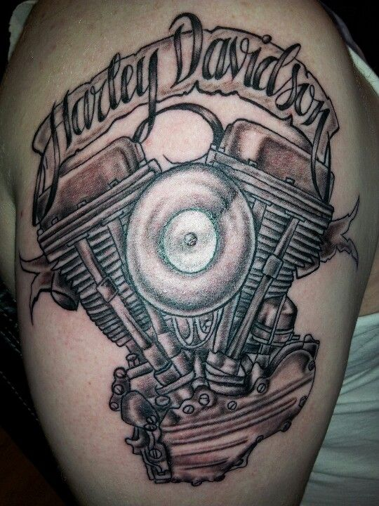 Motorcycle Heartbeat Tattoo: My First Bike Motor!!