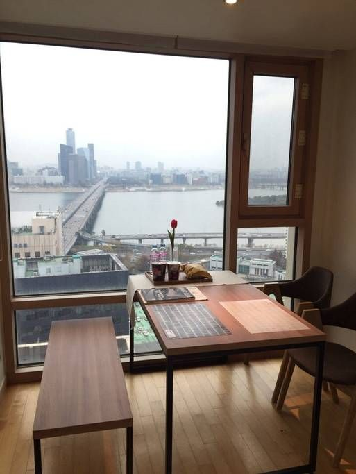Check out this awesome listing on airbnb river view high fl central seoul