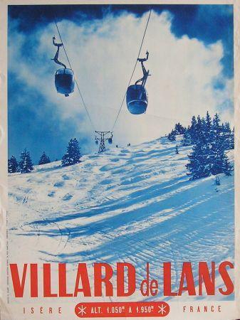 Villard De Lans Isere France Affiche Ancienne Annees 50