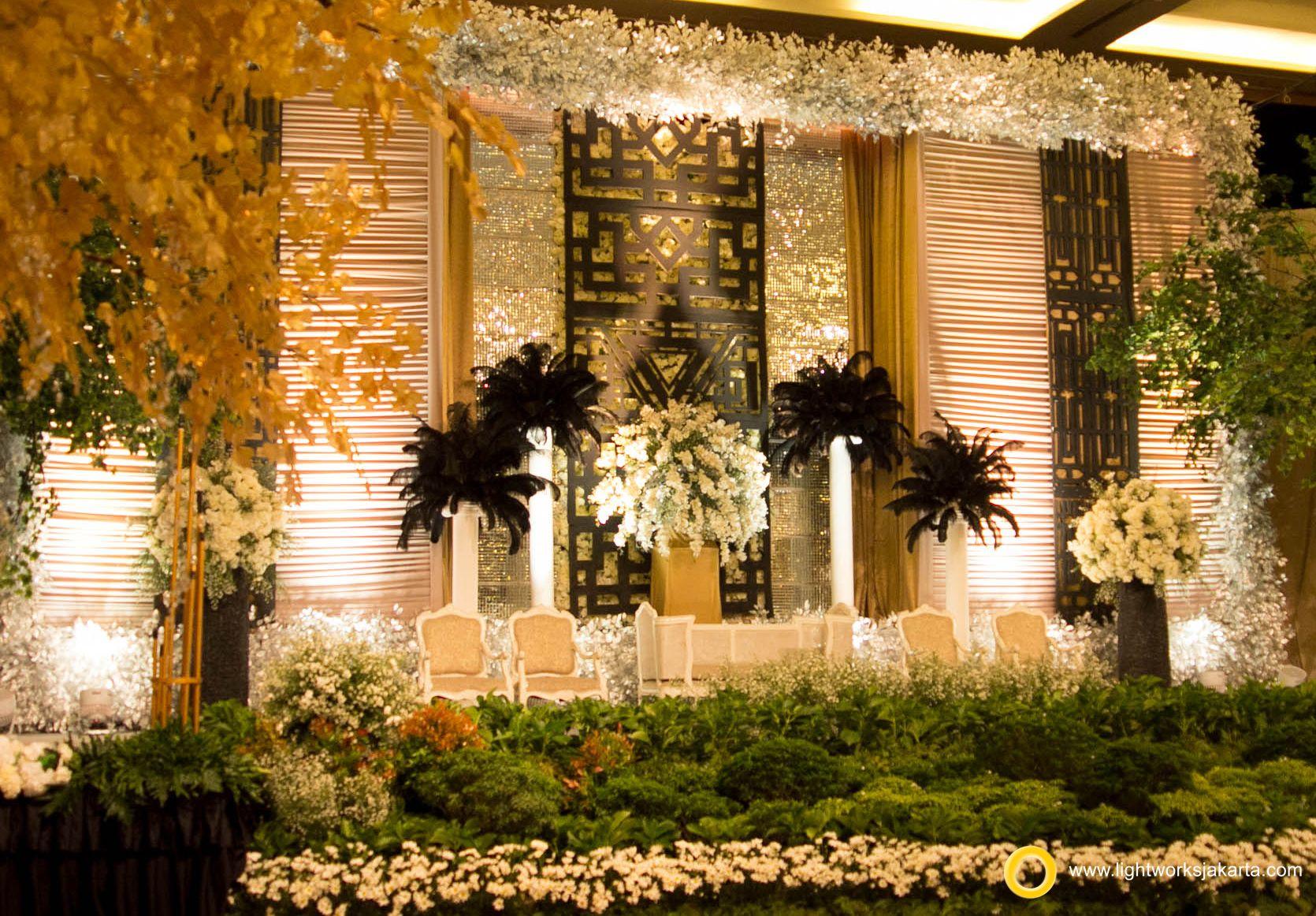 Oliver And Stellas Wedding Reception Venue At Pullman Central Park Hotel Jakarta Organized