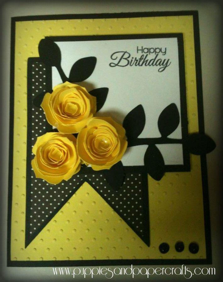 Ricketts Cricuts Happy Birthday Birthday Cards For Women Birthday Cards Diy Floral Cards
