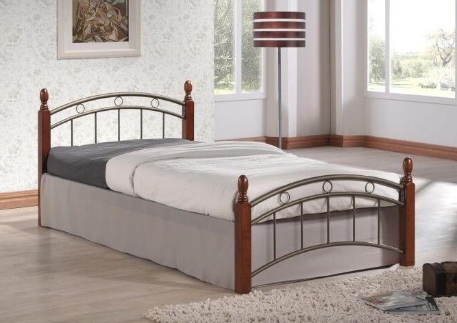 Кровать односпальная Т-208