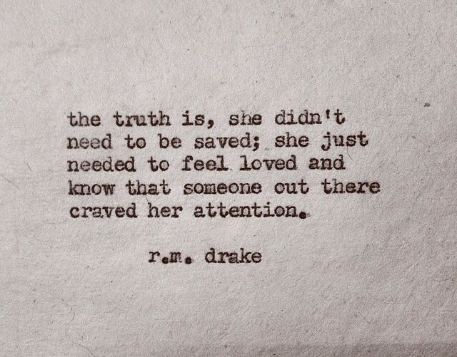 Love Is All She Needs Words Quotes Attention Quotes Words