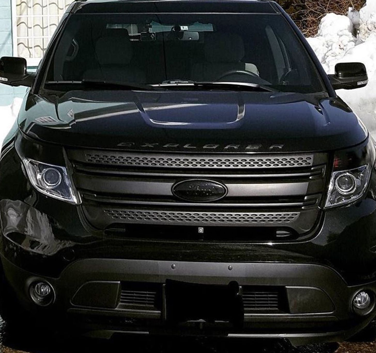 Blacked Out Explorer Ford explorer sport, Ford explorer