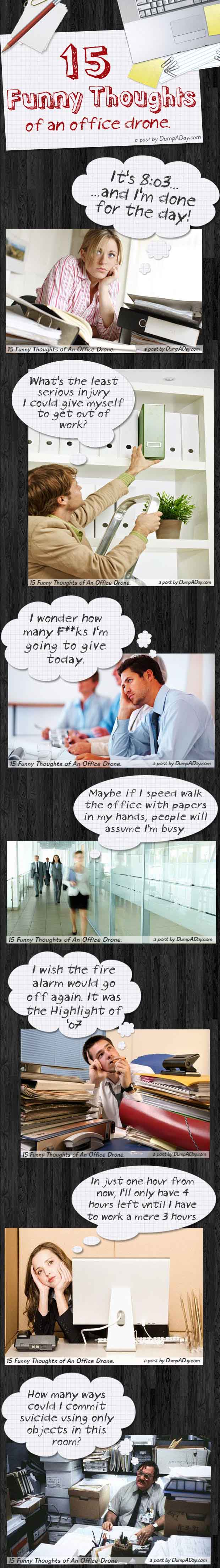 Dump A Day 15 Funny Thoughts Of An Office Drone