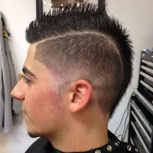 Peachy 30 Mohawk Hairstyles For Men Long Mohawk Mohawk Hairstyles For Hairstyles For Women Draintrainus