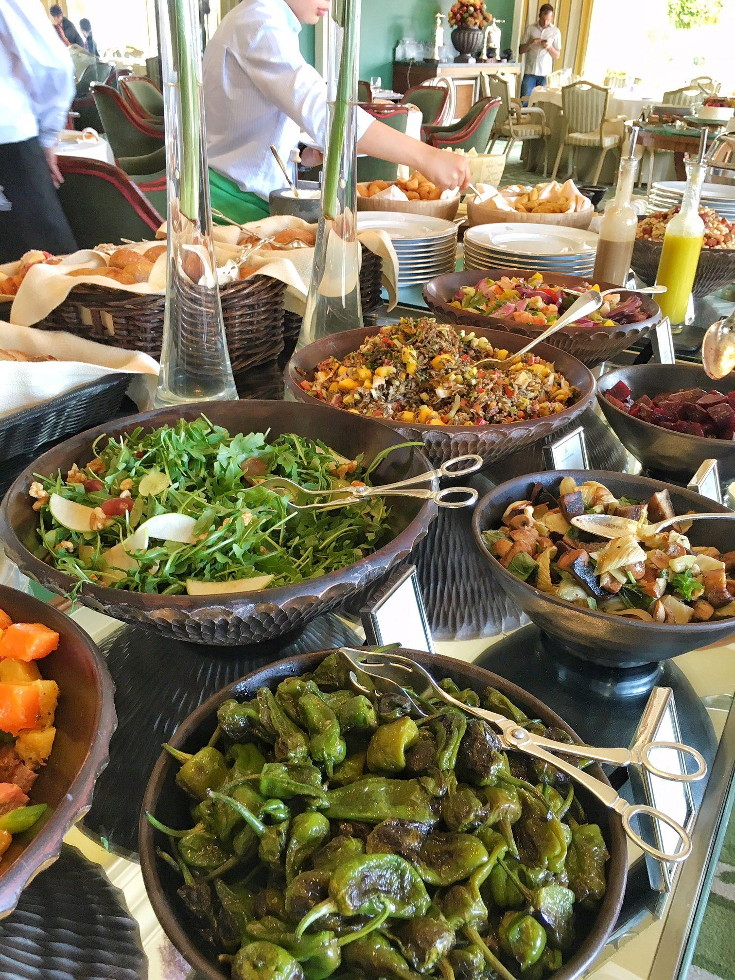 Four Seasons Hotel Ritz Lisboa Buffet De Saladas Buffet De