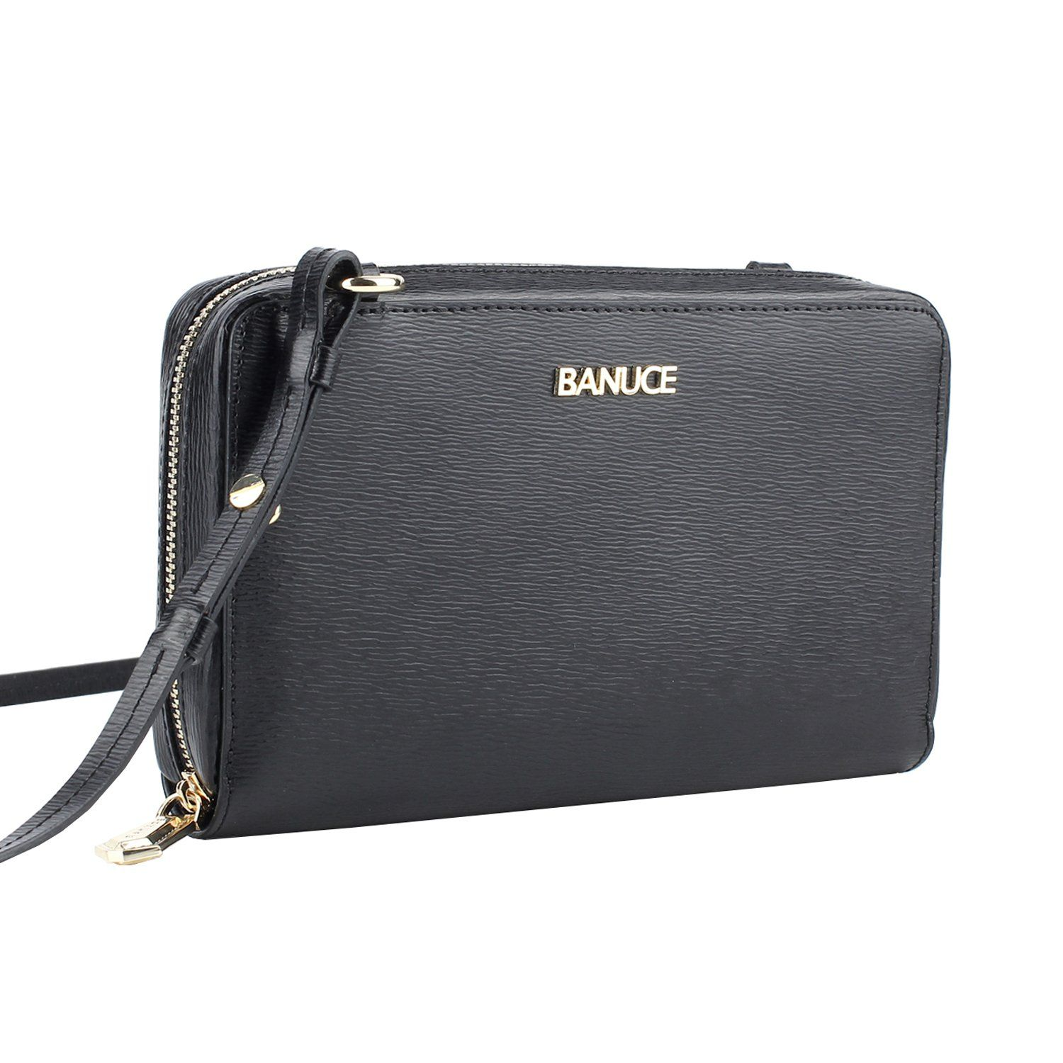 1d75e2daa Banuce Small Shoulder Clutch Crossbody Purse Organizer Genuine Leather  Wallet for Women Satchel ** Details could be discovered by clicking on the  photo.