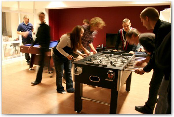 Games area - fussball
