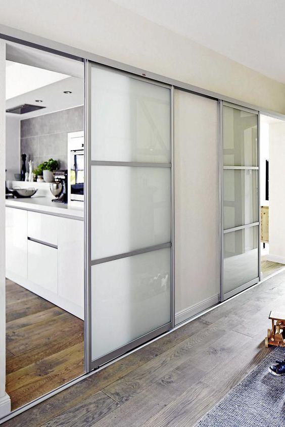 Schiebetüren für offene Wohnküchen: | Individuelle Schiebetüren ...