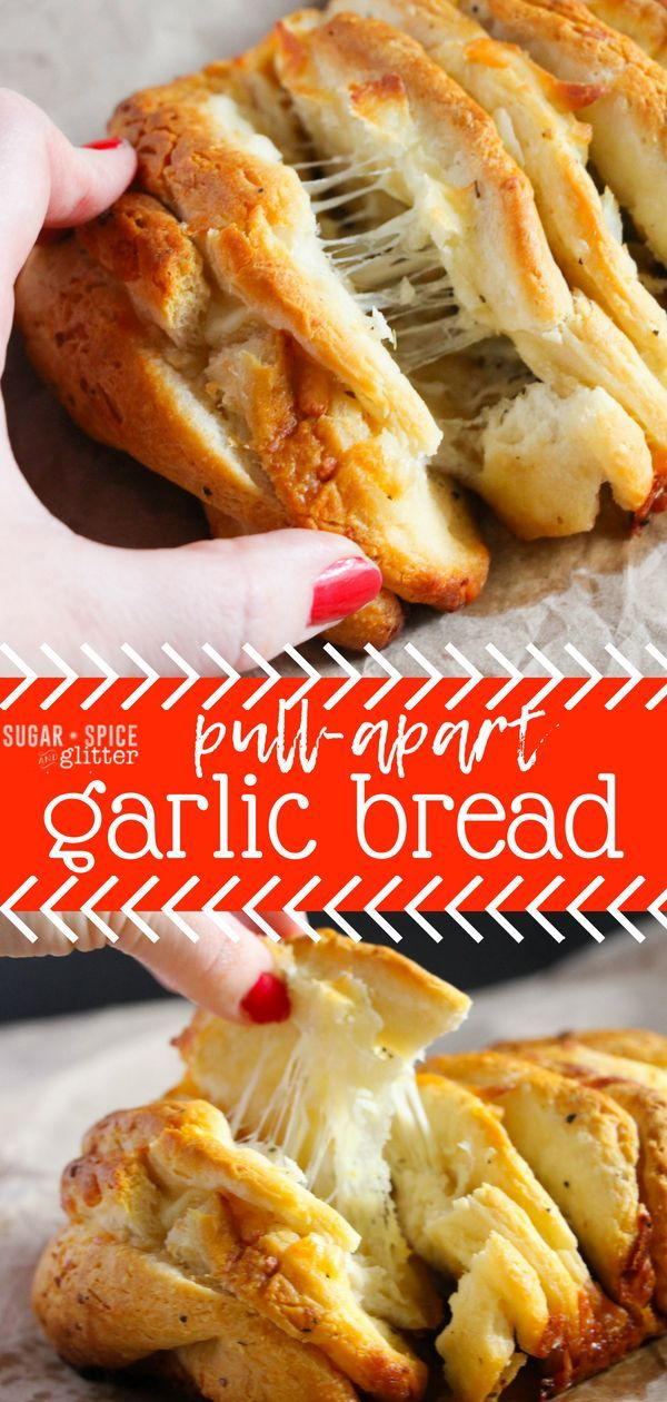 This Easy Cheesy Garlic Bread is ready in minutes the
