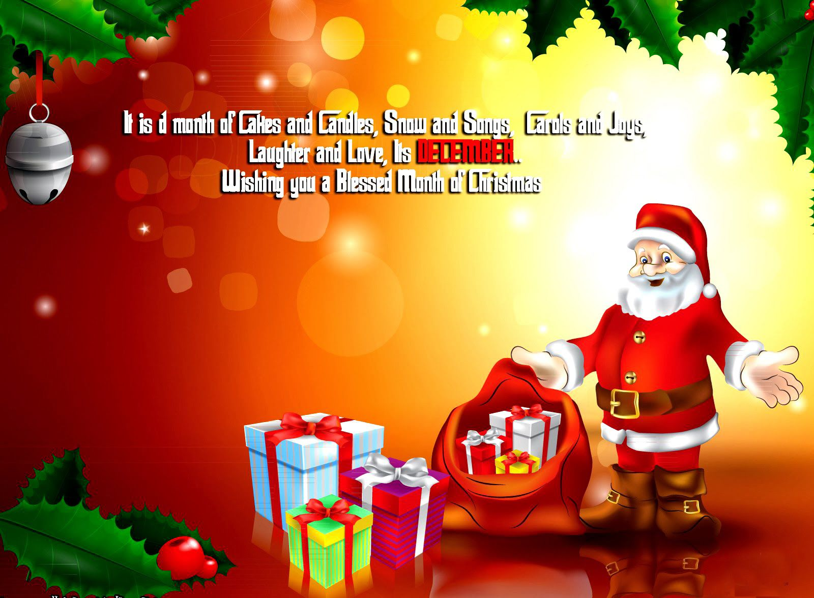 Perfect Merry Christmas Drawing Wallpaper Christmas Holidays Wallpapers In Nice Design