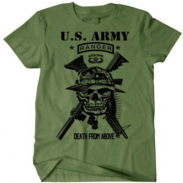 Us Army Ranger T Shirt Socom Lead The Way Usa Us Army Us Army