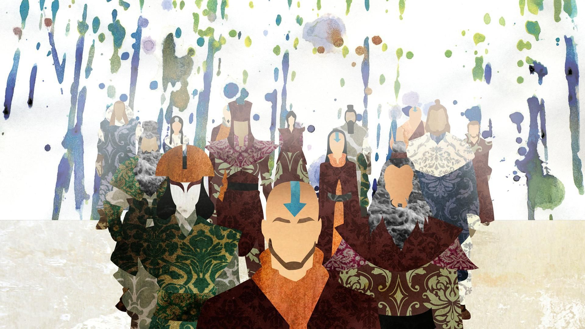 Avatar The Last Airbender Wallpaper Mac Avatar Hava Bukucu Avatar Sanat