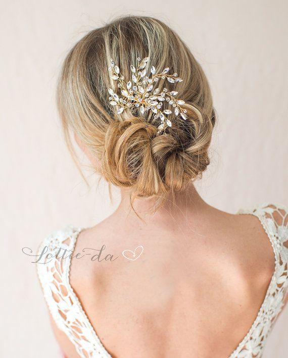 sparkly bridal hair comb d2