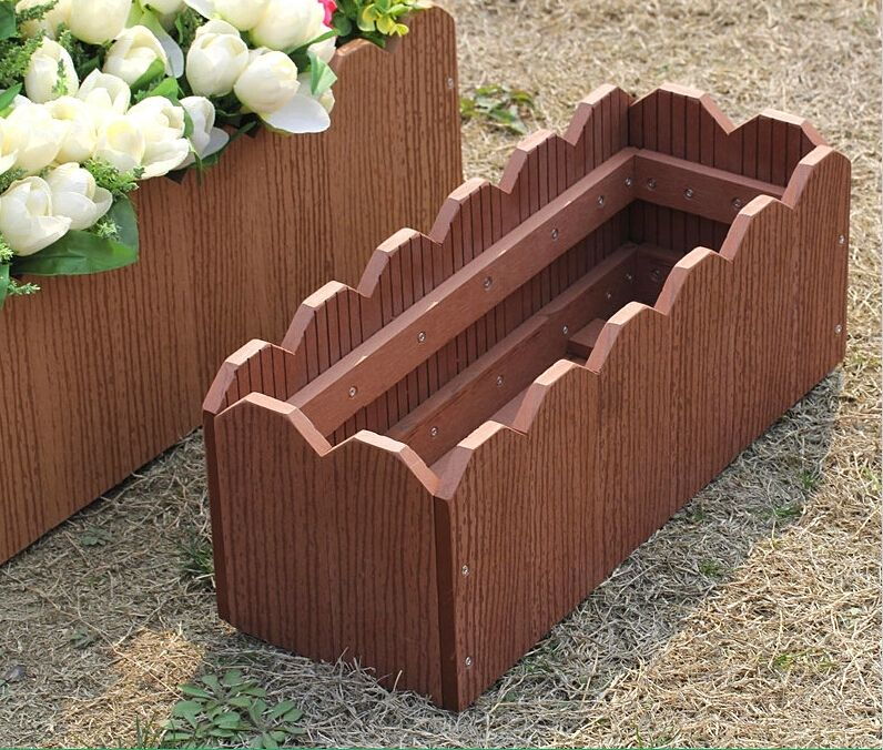Thailand Patio Furniture Manufacturers: Backyard Patio Wpc Flower Boxes Thailand,Chiang Mai