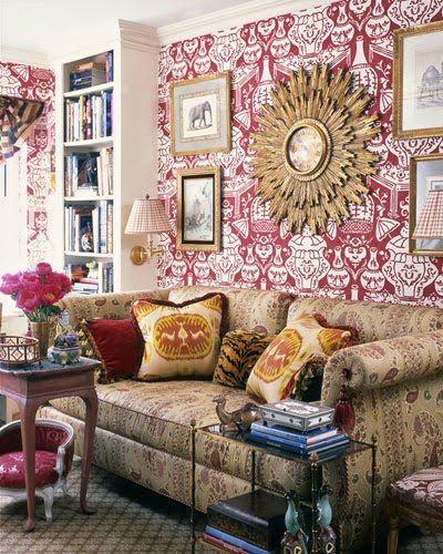 Clarence House Wallpaper The Vase Doeloe1st