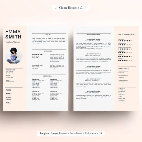 Clean Resume Co Provides Editable Resume Templates That Will Help