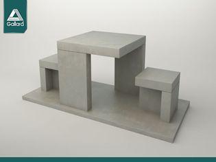 Bancos de plaza bancos de plaza de cemento bancos - Bancos de cemento ...