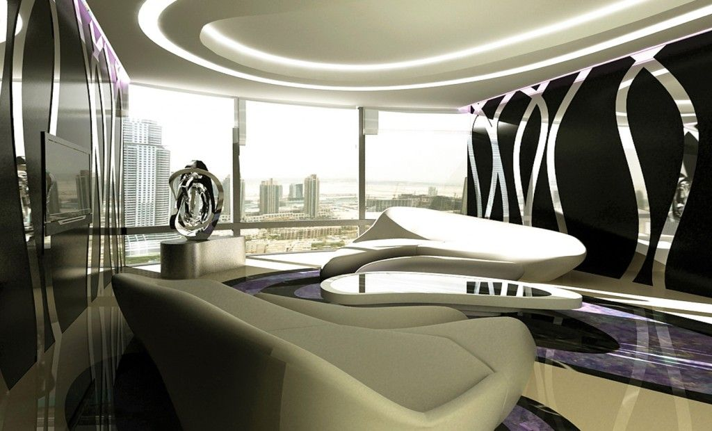Creative Apartment Design For Burj Khalifa Tower With Images
