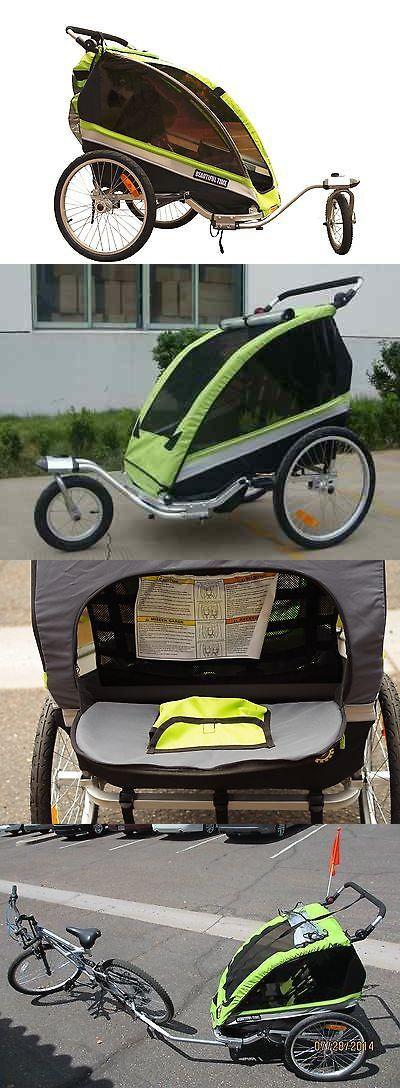 Trailers 85040: Beautiful Time Baby Bicycle Trailer Stroller And Jogger 3 In 1 For 1 To 2 Babies -> BUY IT NOW ONLY: $249 on eBay!