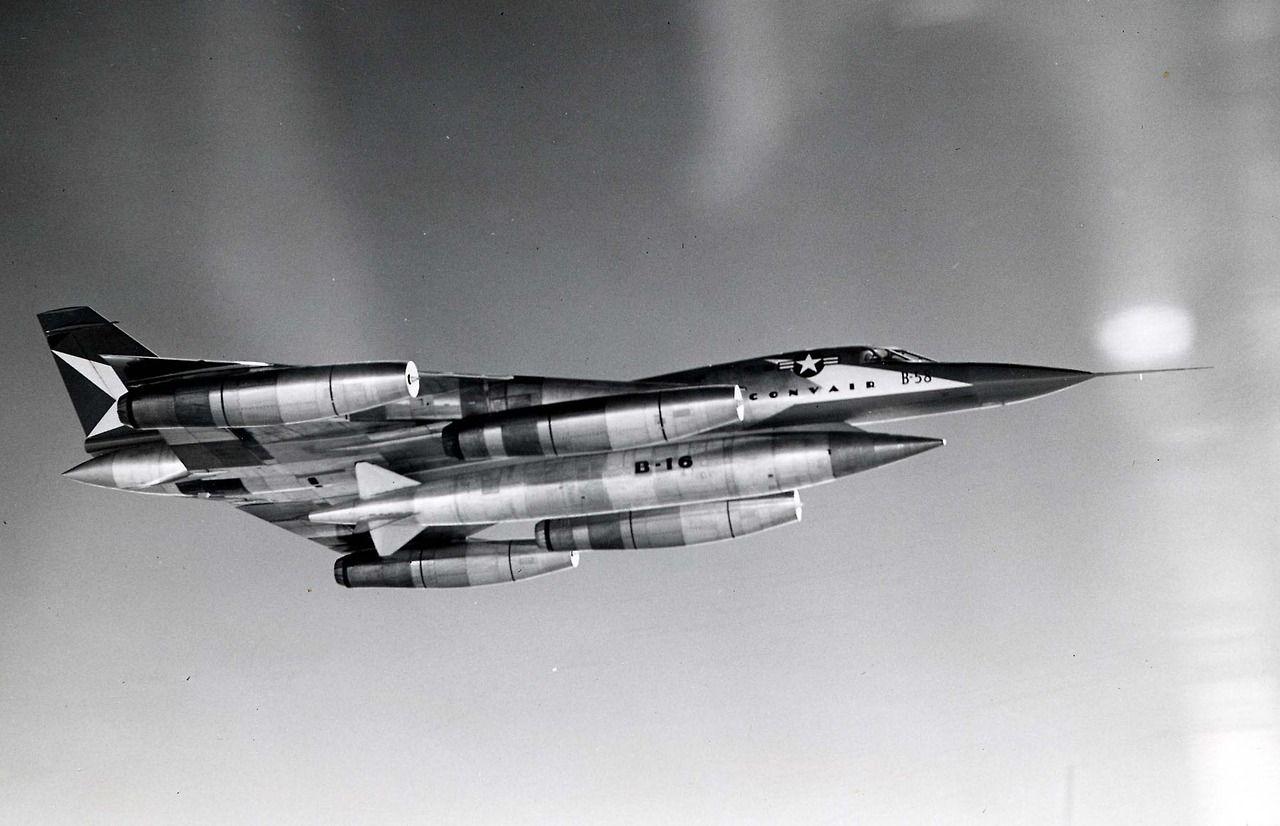 Convair XB-58 Hustler.