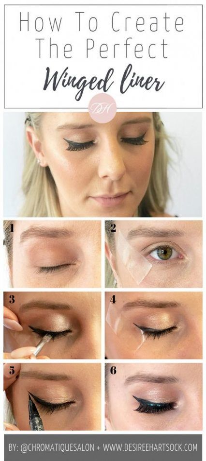 New eye cat makeup simple winged liner 21+ Ideas #wingedliner