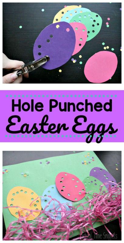 Easy Easter Fine Motor Skills Craft