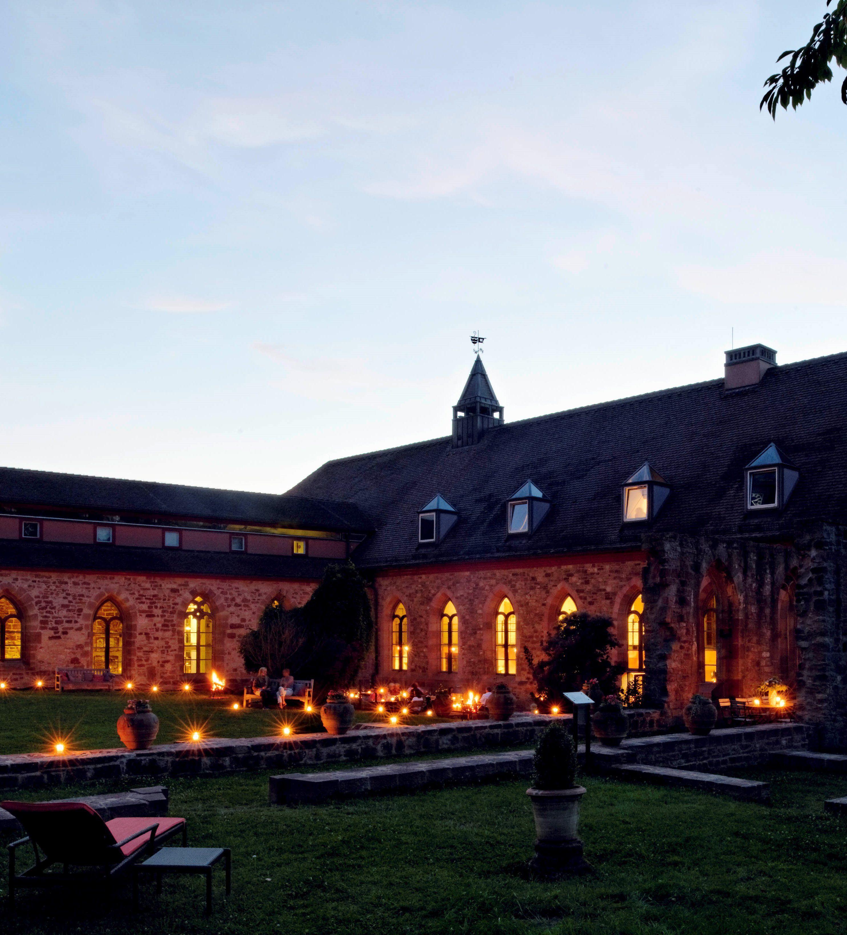 #Klosterinnenhof am #Abend - tolle #Stimmung