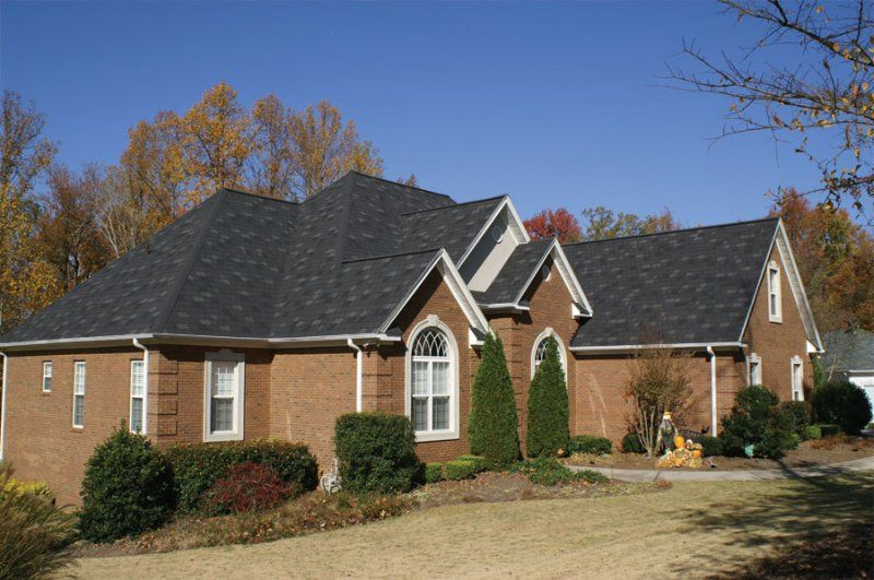 404 Not Found Red Brick House Roof Shingles Shingling