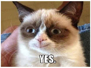Grumpy Cat Smiling Your+name+makes+Grumpy+Cat+smile+