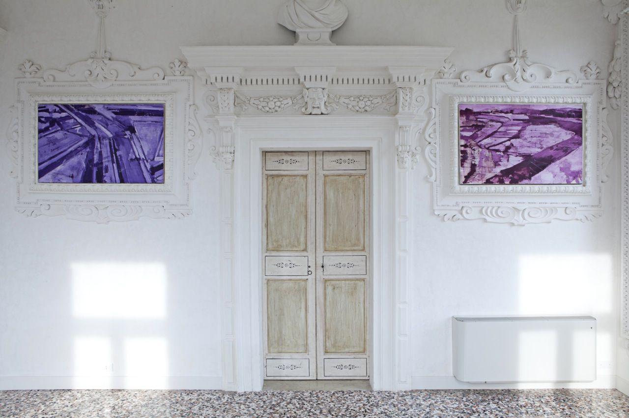 Giovanni Frangi/Mappe/Villa Morosini/2012