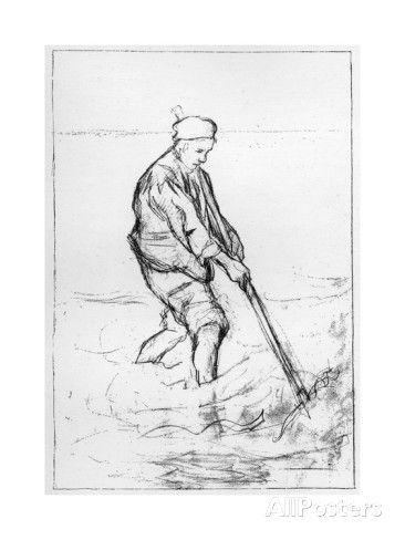 The Struggle for Life, C1880-1882. Jozef Israels