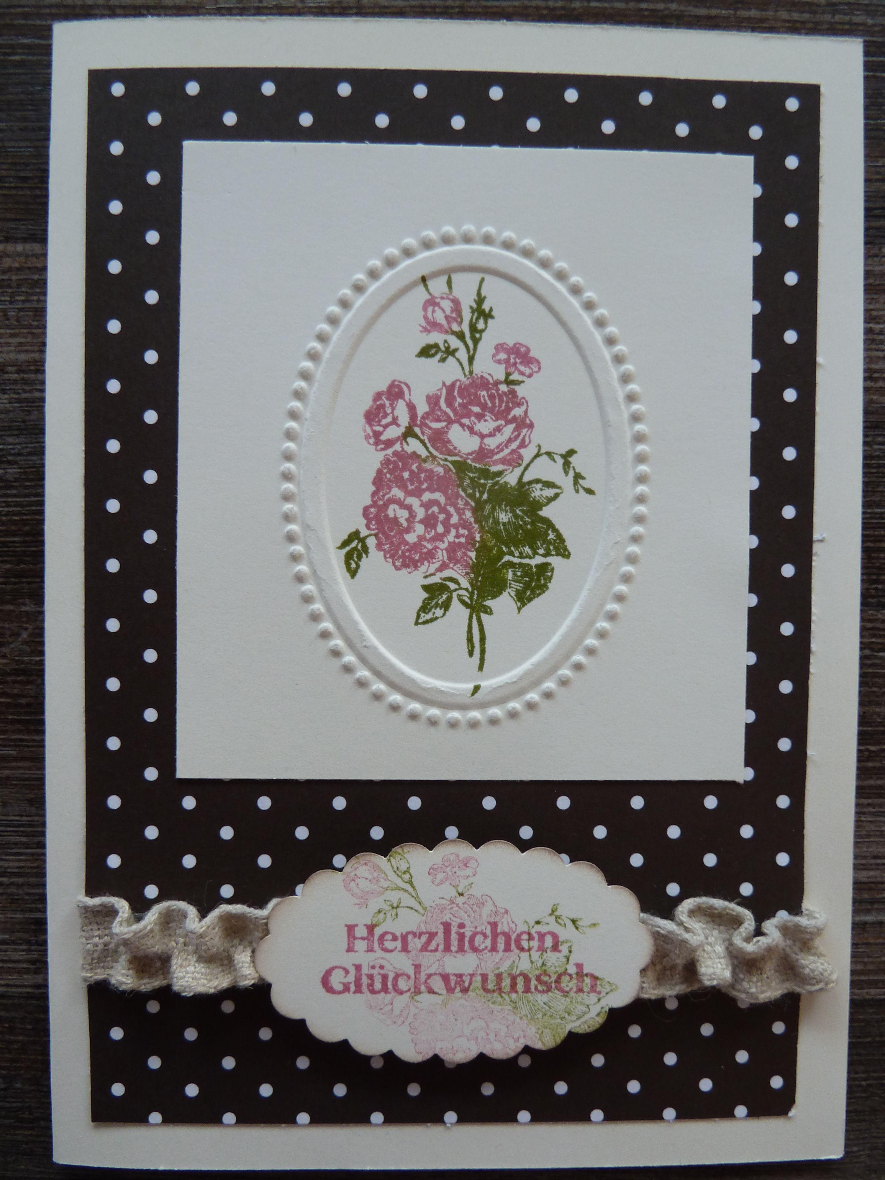 Geburtstagskarte Mit Stampin Up Und Best Of Flowers Birthday Cards