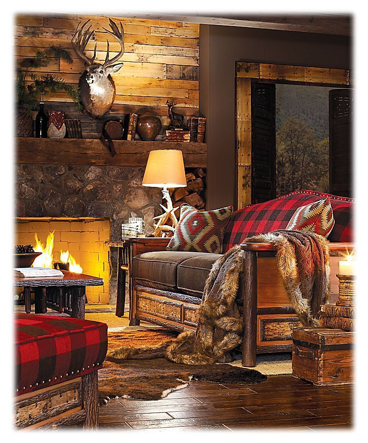 Old Hickory Furniture Woodland Living Room Collection Sofa images