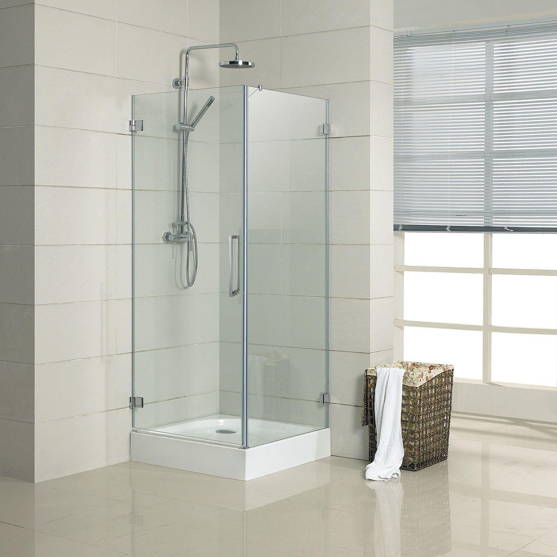32 X 32 Jannu Square Shower Enclosure Shower Enclosure Square Shower Enclosures Shower Cabin