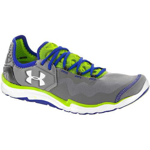 Under Armour Charge Rc 2: Under Armour Men's Running Shoes Gravel/metallic Silver/hyper Green