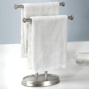 Free Standing Towel Stand Towel Rack Hand Towels Free Standing Towel Rack