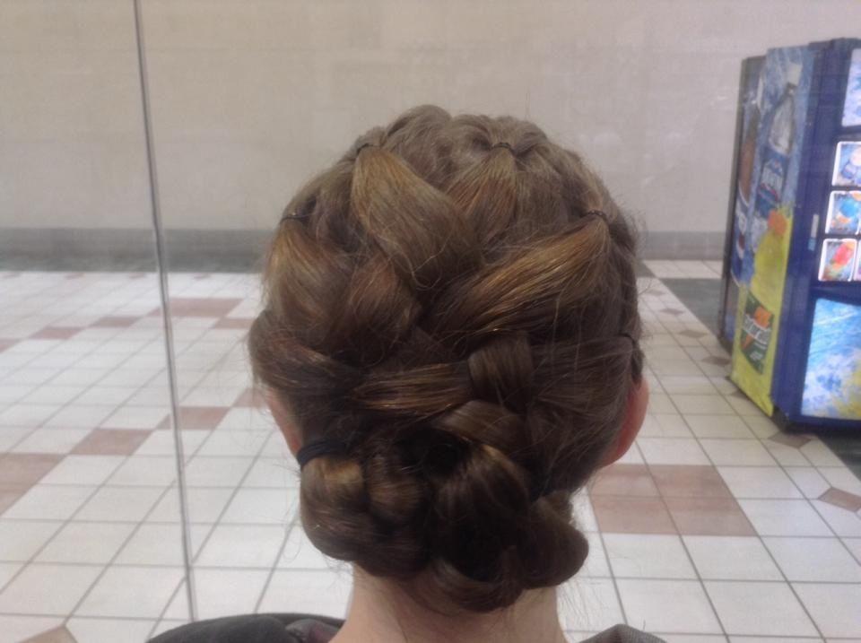 Updo by Debbie | Long hair styles, Hair styles, Hair