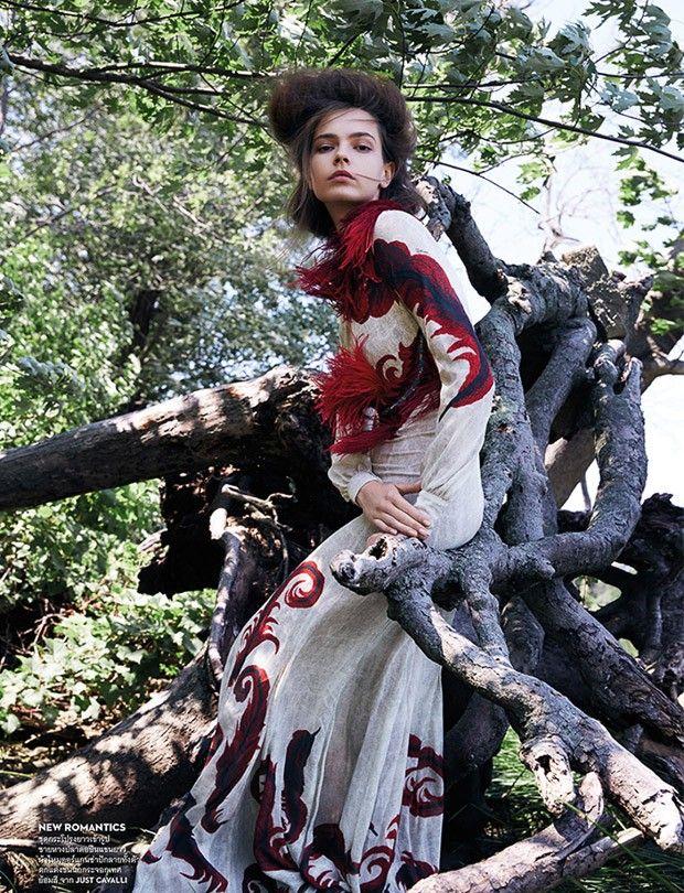 Мила Цветкович в Vogue Thailand (Интернет-журнал ETODAY)