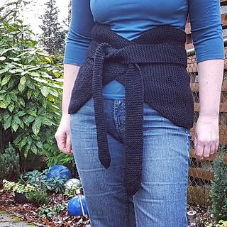 Garter Stitch Bellywarmer (Haramaki) - free knitting pattern by Knitting  and so on