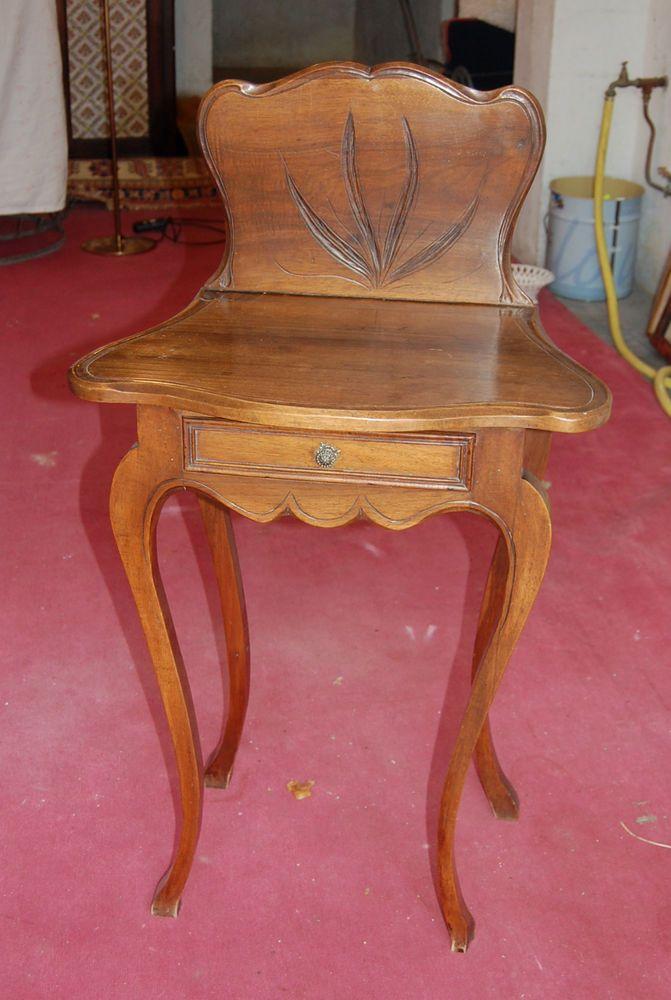 Gueridon Ancien Chene 19eme Ou Coiffeuse Furniture Side Table Home Decor