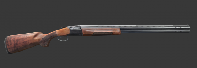 Hunting rifle 3D Model  max  c4d  obj  3ds  fbx  lwo  stl