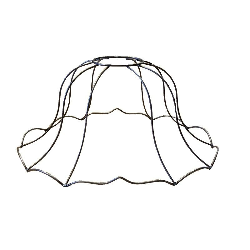 Bella Fleur Wire Frame Look Up Arowire And Make Your Own Shade Victorianlampshades Victorianwireshade Lamp Shade Frame Victorian Lamps Victorian Lampshades
